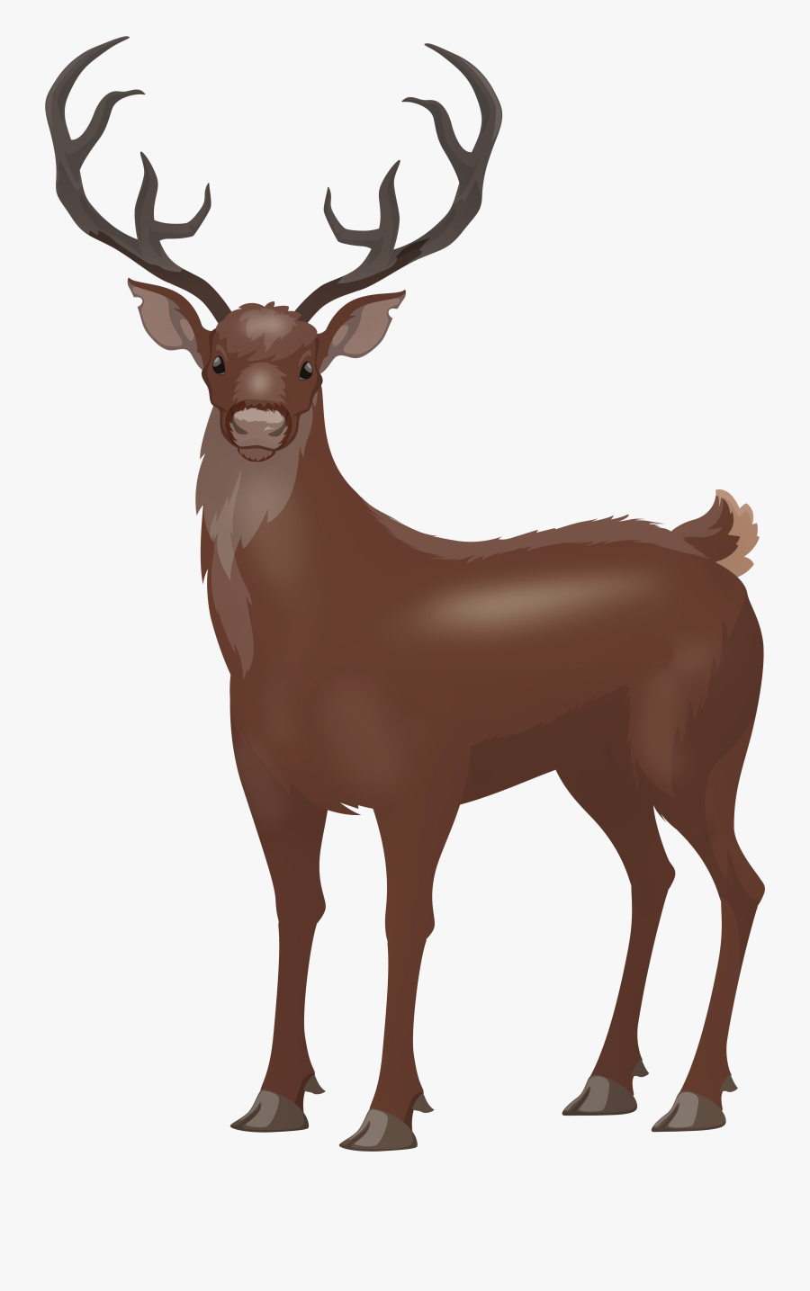Red Png Clip Art - Red Deer Clipart, Transparent Clipart