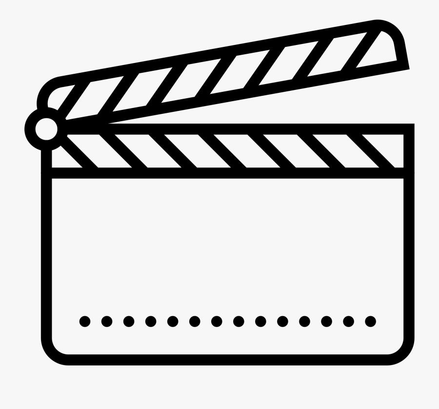 Transparent Clapperboard Png - Film Clapper Board Clip Art, Transparent Clipart