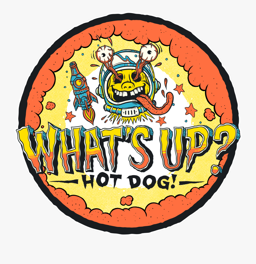 Whats Up Hot Dog, Transparent Clipart