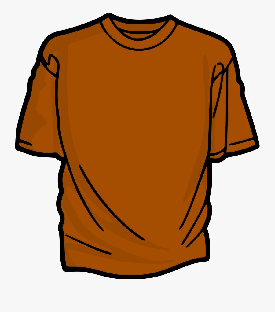 Orange T-shirt - Orange T Shirt Clipart, Transparent Clipart