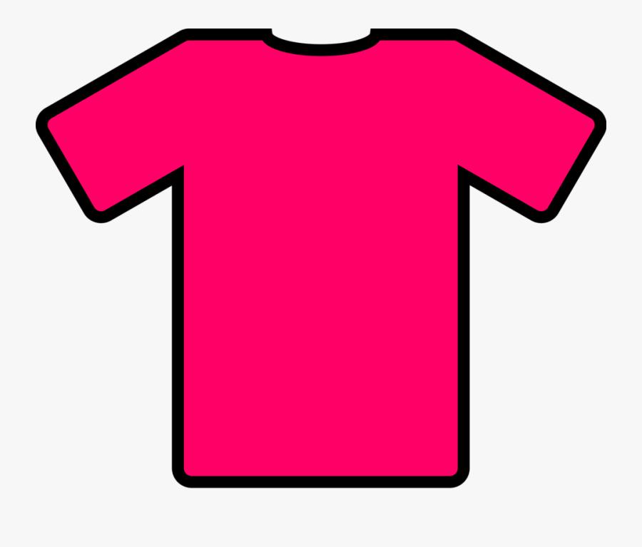 Pink T-shirt - T Shirt Clip Art, Transparent Clipart