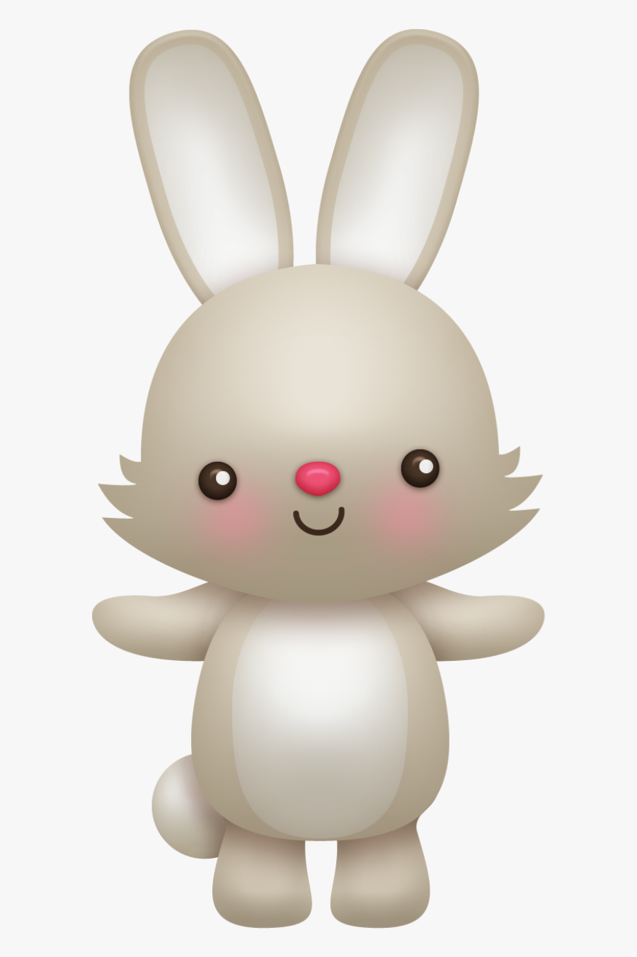 Rabbit,skin,rabbits And Rabbit,clip Art,whiskers,easter - Woodland Animal Clipart Bunny, Transparent Clipart