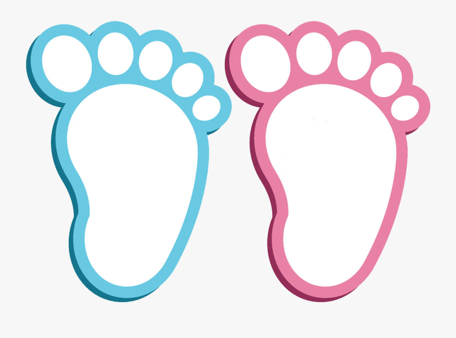 Baby Footprint Clipart At Getdrawings - Cartoon Pictures Of Footprints, Transparent Clipart