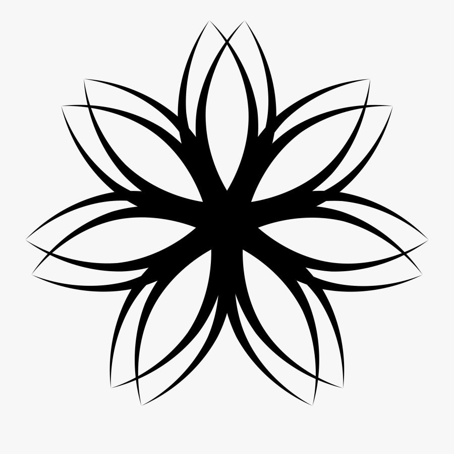 Lines clipart flower, Lines flower Transparent FREE for download on  WebStockReview 2020
