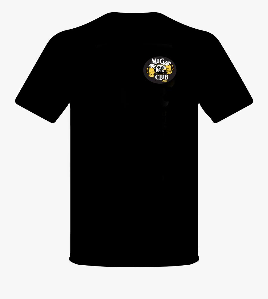 T Shirt Clipart Black Shirt - Black T Shirt Back Png, Transparent Clipart