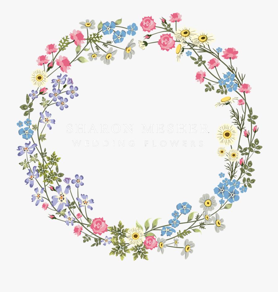 Floral Clipart Rustic Wedding - Flower Logo Design For Wedding, Transparent Clipart
