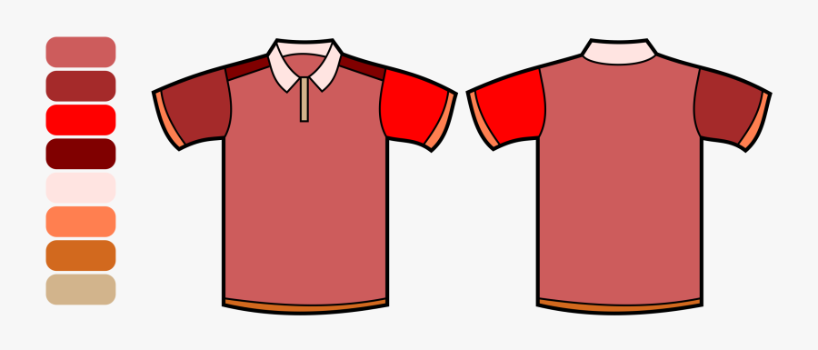Roblox T Shirt Template Awesome T Shirt Template Youth - Colored Polo Shirt Template, Transparent Clipart