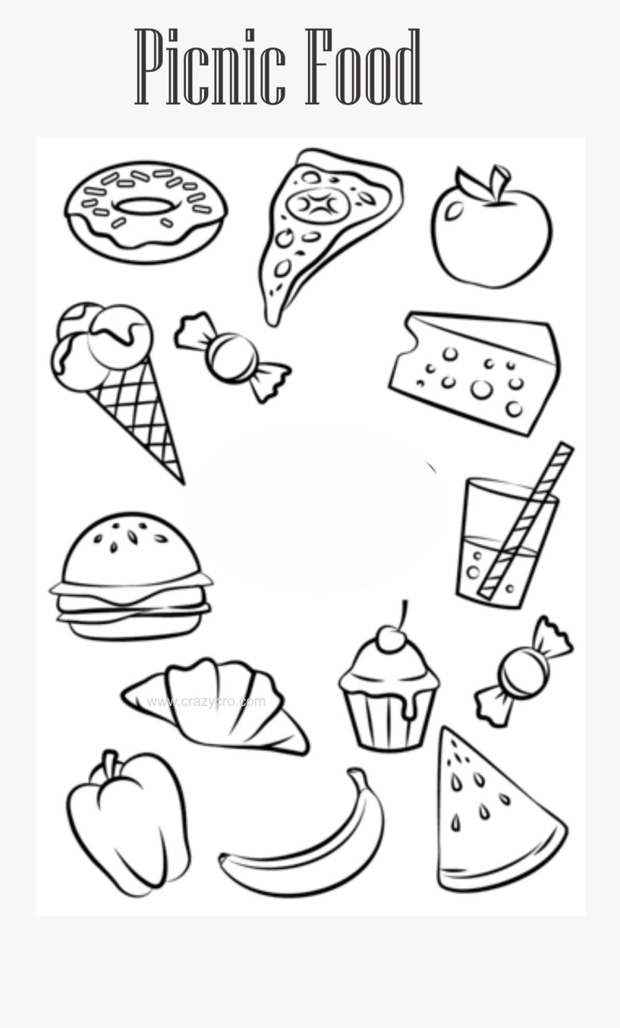 - Free Food Coloring Pages Haramiran