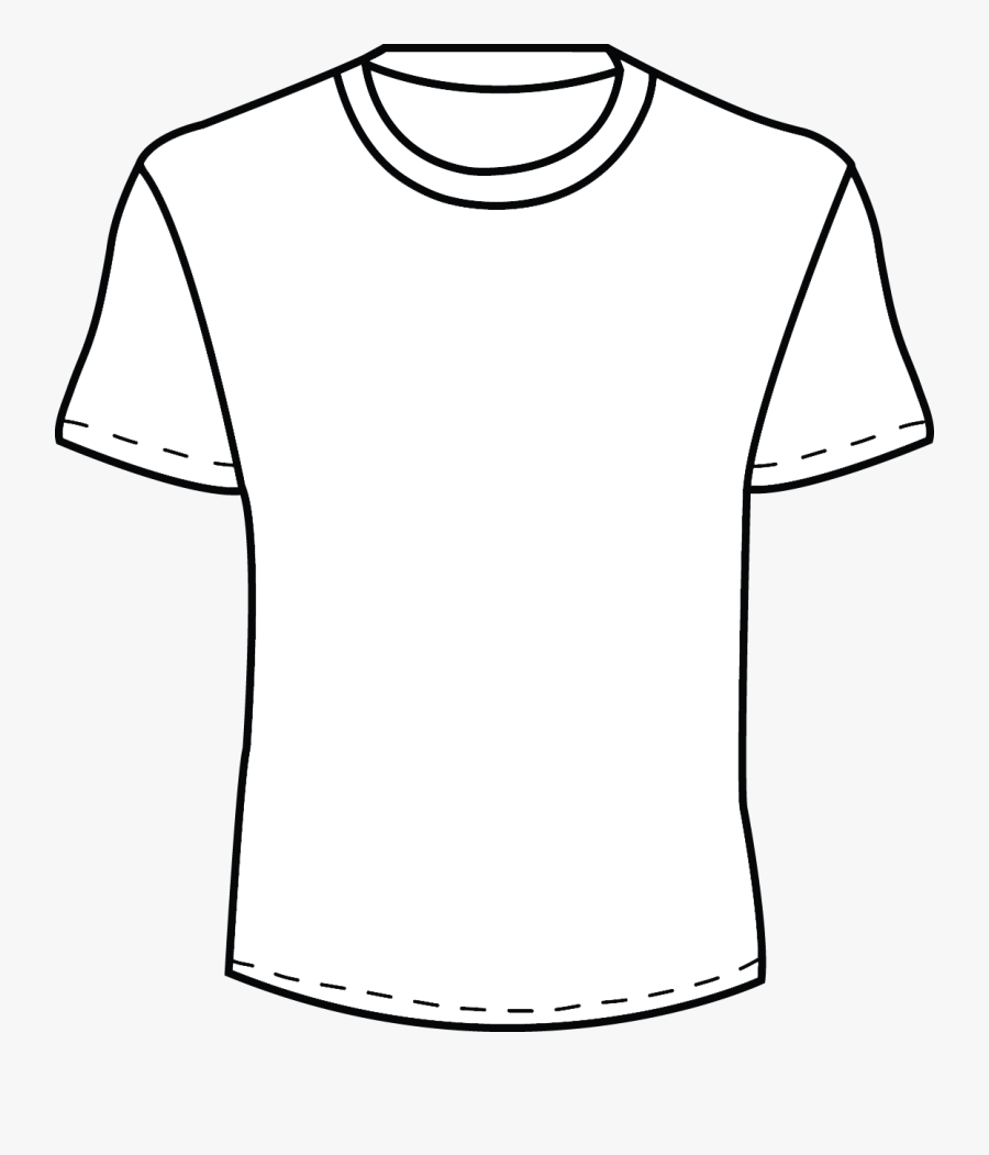 White T Shirt Template Png Images Pictures Becuo Zekkf - Men T Shirt Clipart, Transparent Clipart