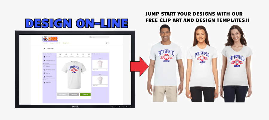 Screen Printing Service In Pittsfield Ma - Product Line Of Screen Printing Company, Transparent Clipart