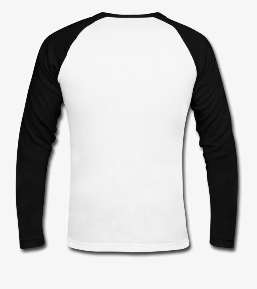 Blank T Shirt Silhouette At Getdrawings - Long Sleeve 2 Color, Transparent Clipart