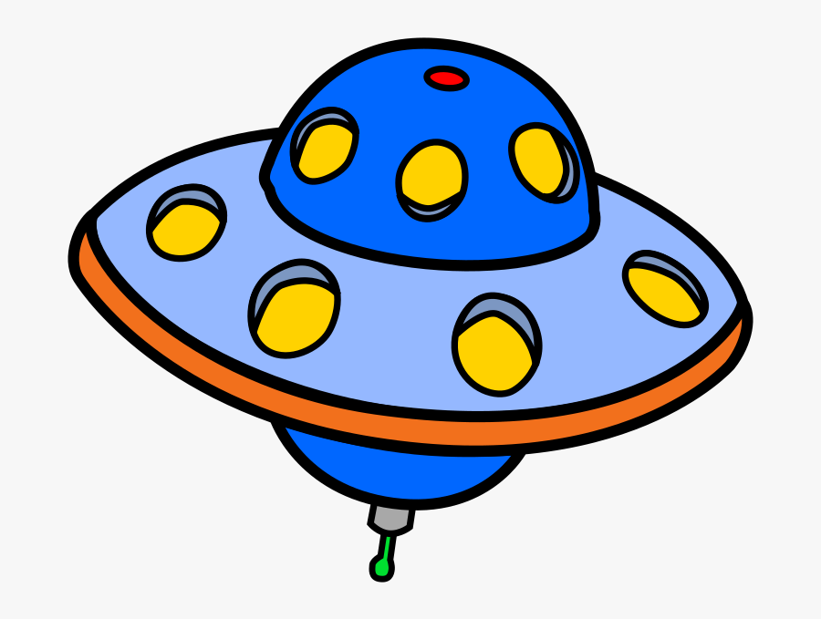 Free To Use &amp, Public Domain Flying Saucer Clip - Ufo Clipart, Transparent Clipart