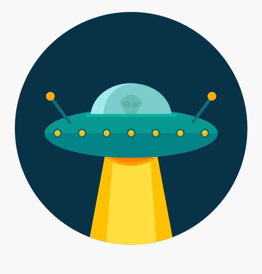 Ufo Vector Png, Transparent Clipart