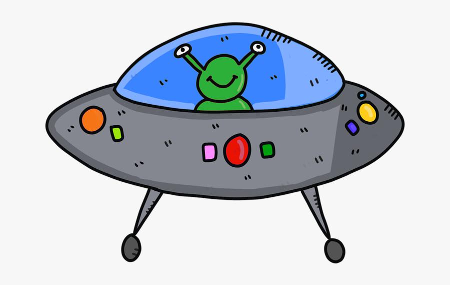 Alien Ufo Png - Alien In Ufo Clipart, Transparent Clipart