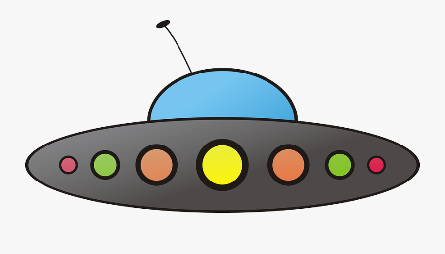 71583 - Comic Ufo, Transparent Clipart