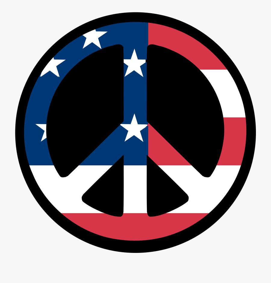 Clip Art Countries Us Flag Peace Symbol Fav - Symbol Of John Adams, Transparent Clipart