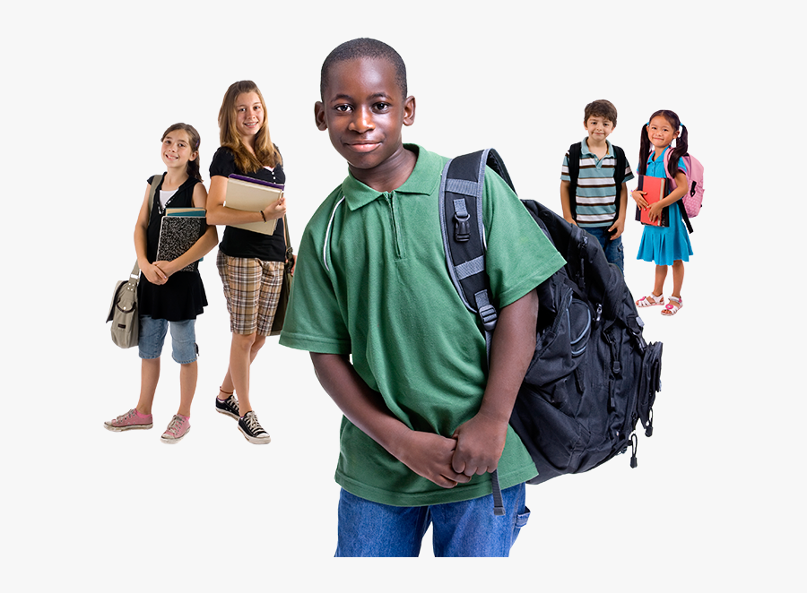 Back To School Black Boy, Transparent Clipart