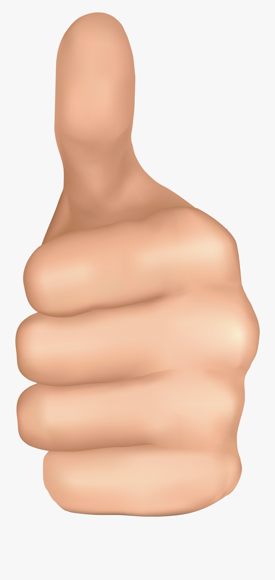 Thumb Up Hand Png Clipart Image - Hand Thumbs Up Png, Transparent Clipart