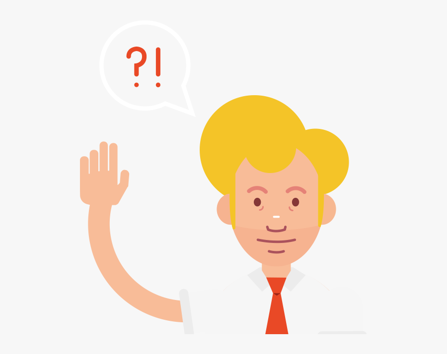 Questions For Businesses Hero Image - Illustration, Transparent Clipart