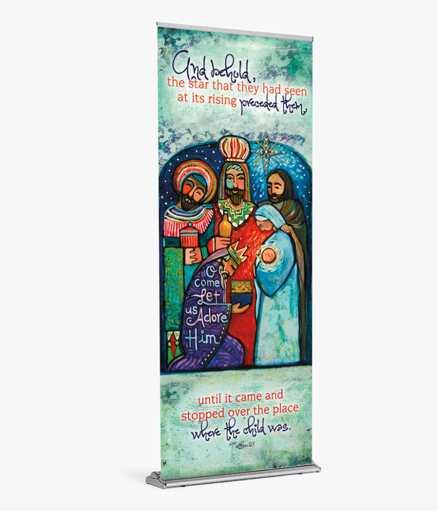 Bulletins For All Seasons - Three Kings O Come Let Us Adore Him, Transparent Clipart