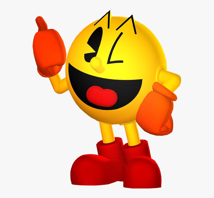 Transparent Pacman Clipart - Pac Man Sonic Dash, Transparent Clipart