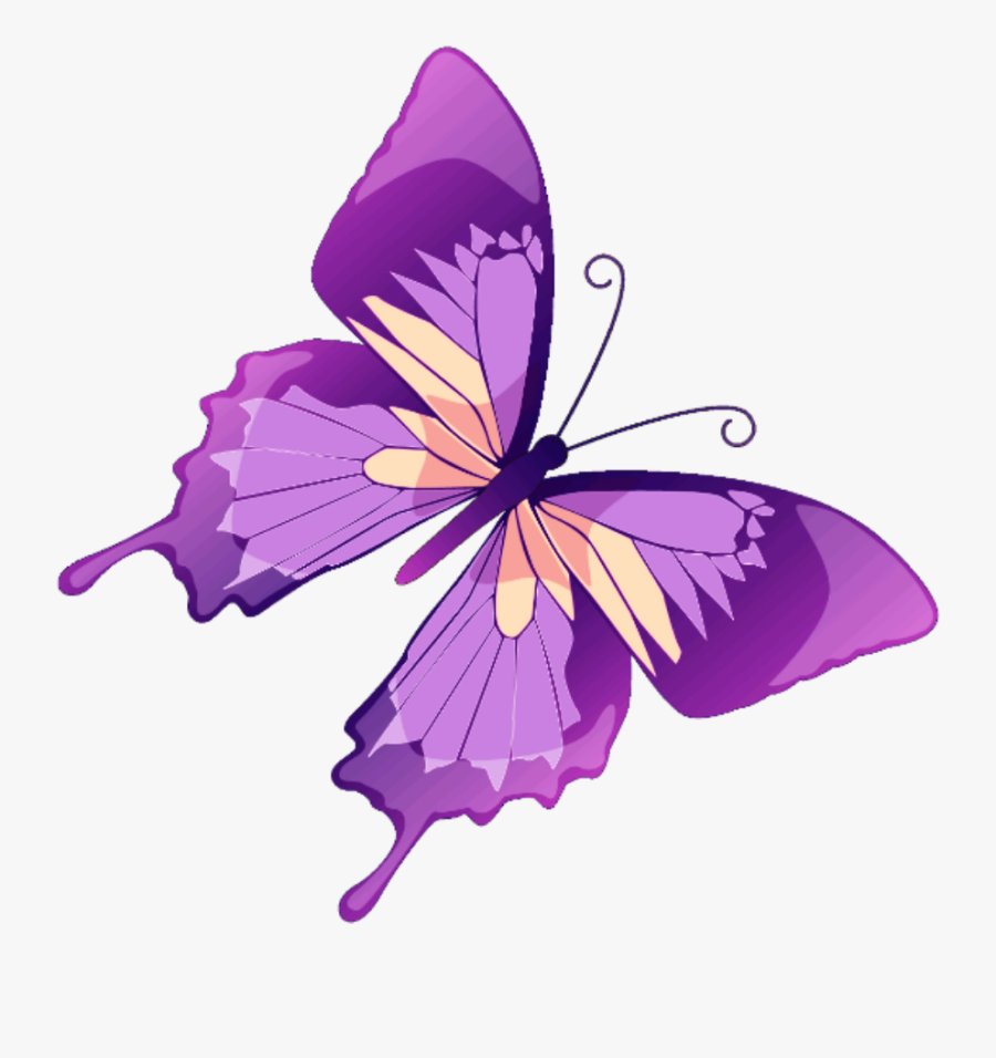 #butterfly #mariposa #diurna #day #diurnal #spring - Butterflies And Flowers Png, Transparent Clipart