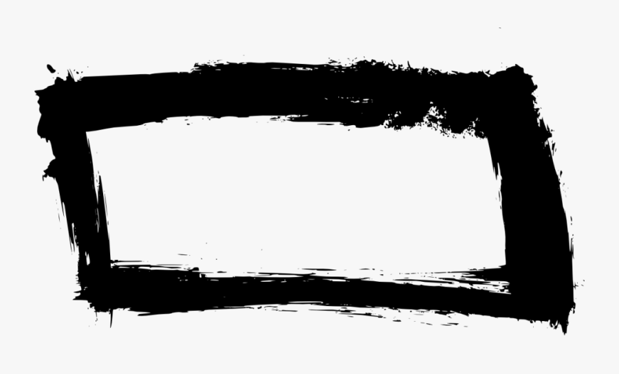 Grunge Banner Png - Picture Frame, Transparent Clipart
