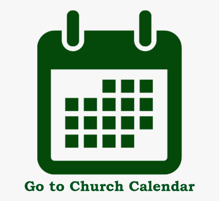 Church Business Meeting Clipart - Calendar Icon Png Transparent, Transparent Clipart