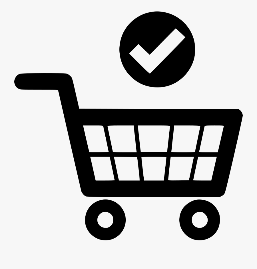 Collection Of Free Approving - Online Shopping Cart Icon Png, Transparent Clipart