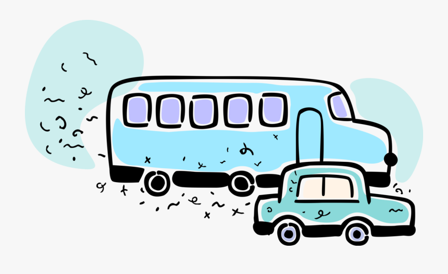 Passenger Tour Bus Motor Image Illustration Of, Transparent Clipart