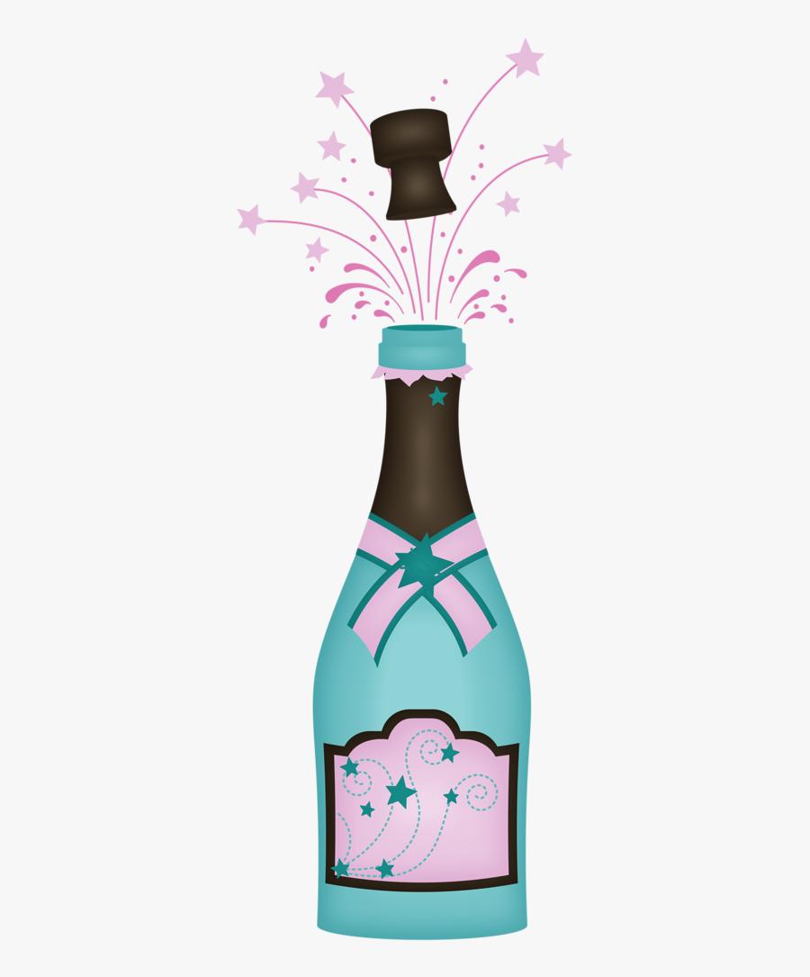 Glass Bottle, Transparent Clipart