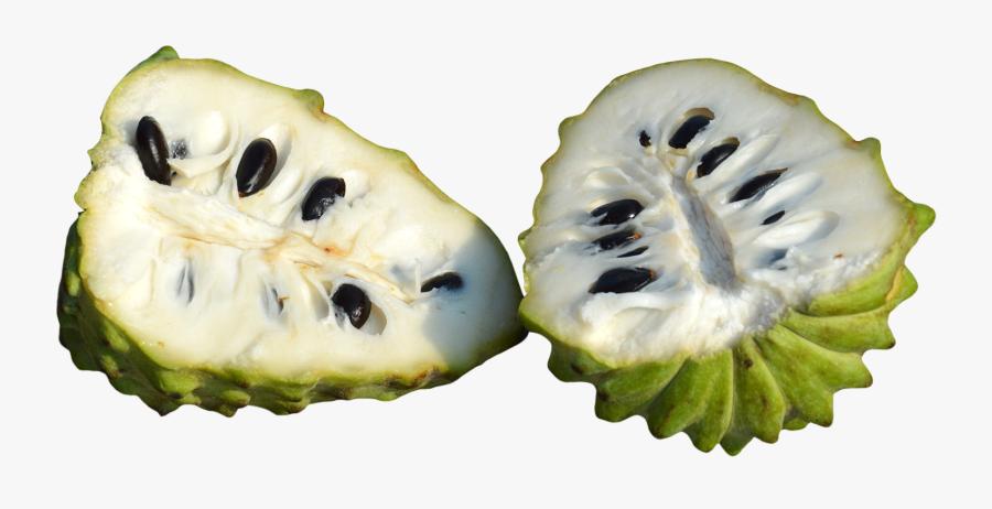 Transparent Sliced Apple Clipart - Custard Apple Fruit Png, Transparent Clipart
