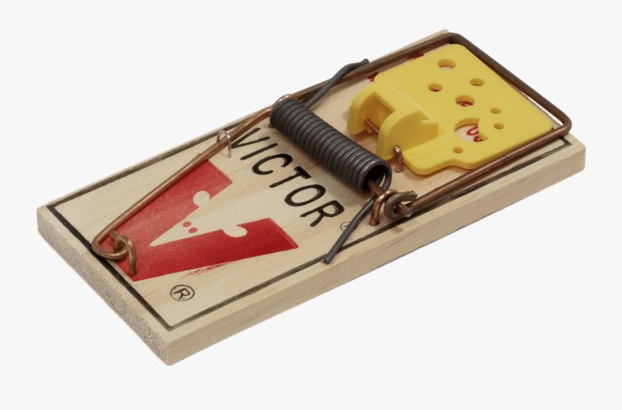 Victor Mousetrap - Mouse Trap, Transparent Clipart