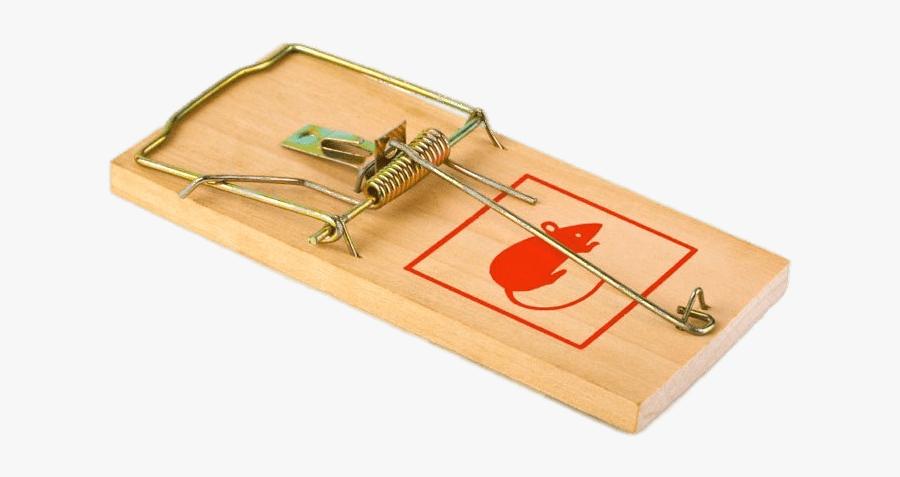 Mousetrap With Red Mouse Image - Transparent Mouse Trap Png, Transparent Clipart
