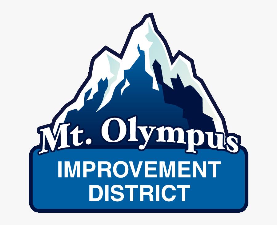 Clip Art Mt Olympus Improvement District - Mount Olympus Improvement District, Transparent Clipart