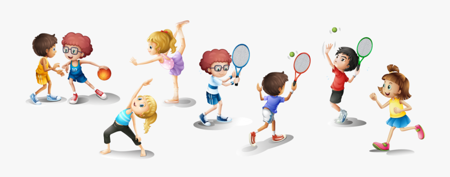 Play Clipart Healthy Sport - Children Playing Clipart Png , Free ...