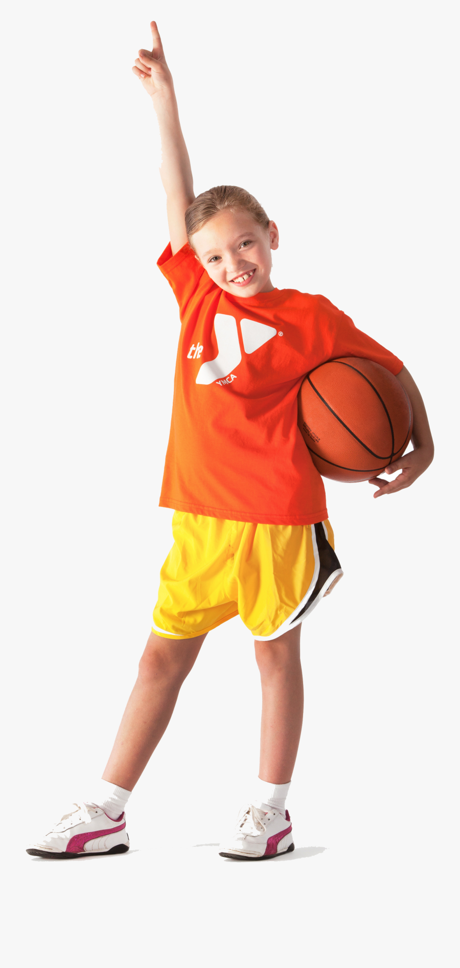Kids Sports Png - Ymca Basketball, Transparent Clipart