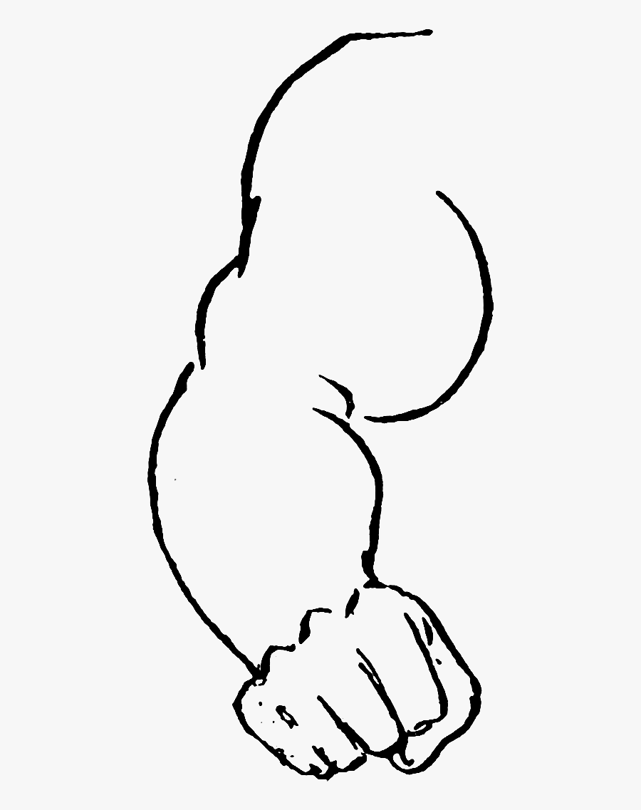 Athletics And Manly Sportethics And Evolution Of Boxing - Line Art, Transparent Clipart