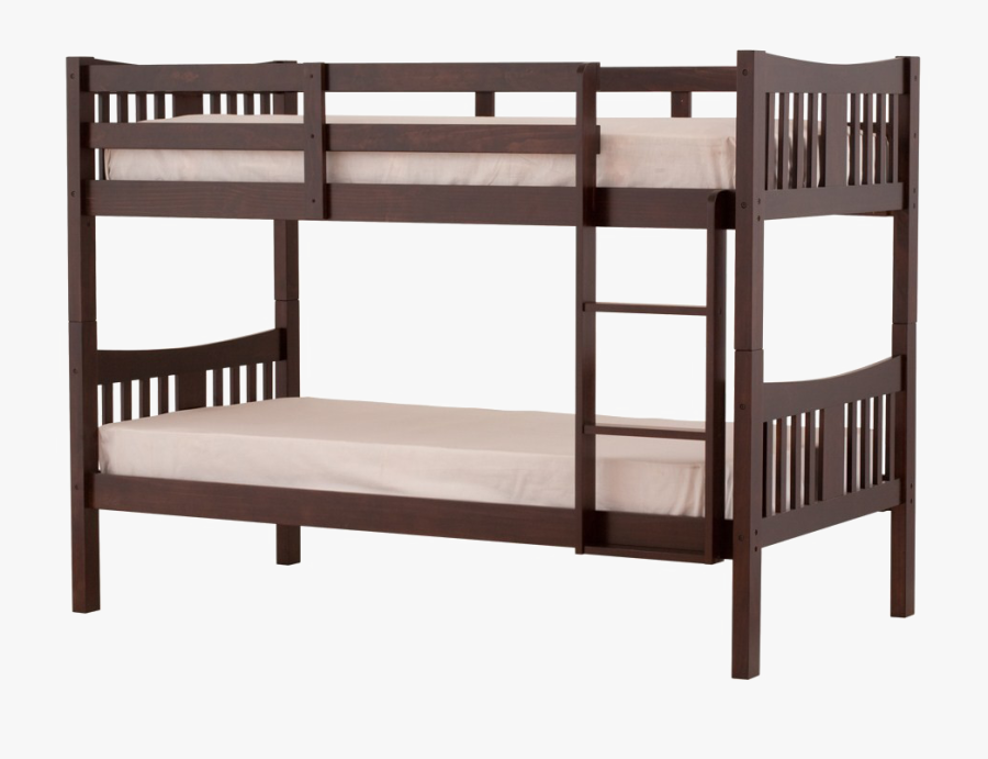 Bunk Bed Png Background Image - Double Deck Bed Clipart, Transparent Clipart
