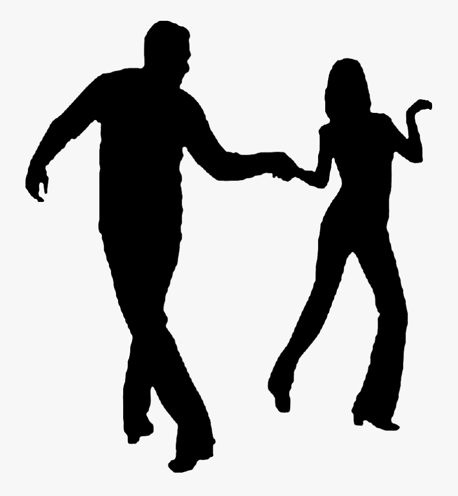 Dance And Demos West Coast Swing Dancers Clipart Black And White Free Transparent Clipart Clipartkey