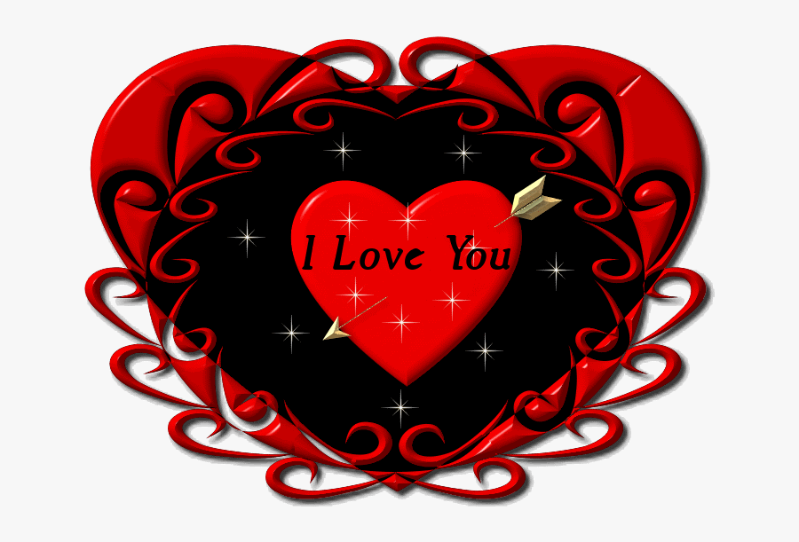I Heart You Clipart At Free For Personal Use Gif Heart - Love You Sweet Husband, Transparent Clipart