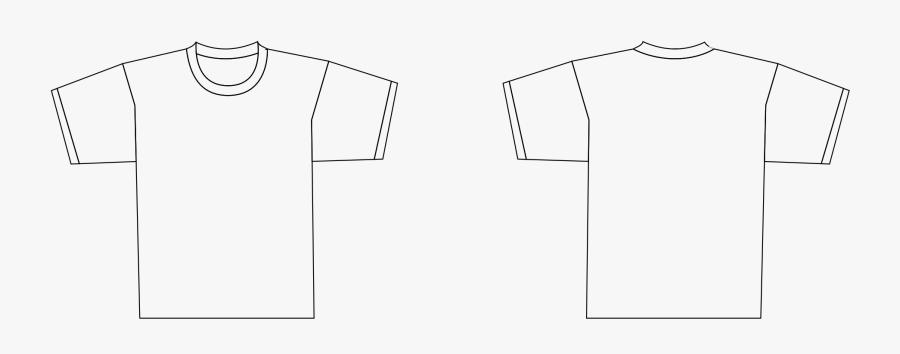 Clipart Shirt Printable - T Shirt Template Icon, Transparent Clipart