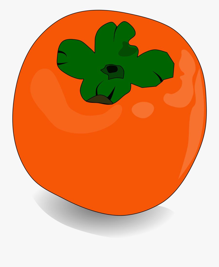 Persimmon, Fruit, Orange, Sweet, Fresh, Healthy - Persimmon Clipart, Transparent Clipart