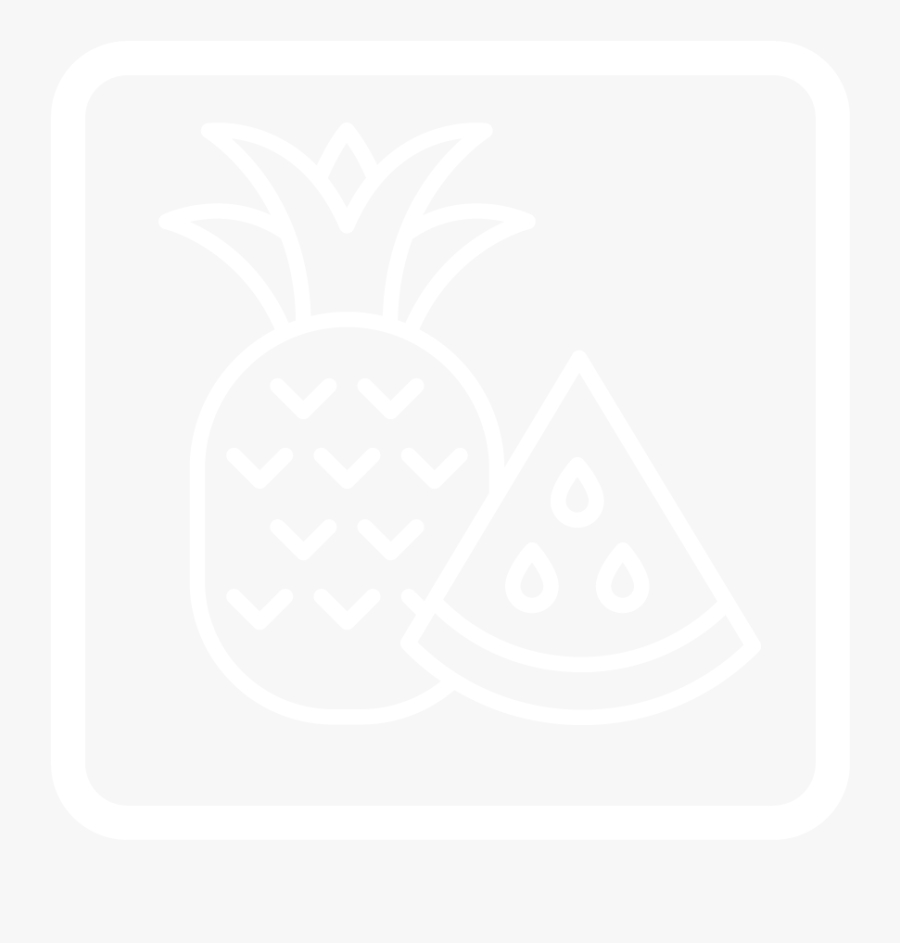 Fruits - Pineapple - Pineapple, Transparent Clipart