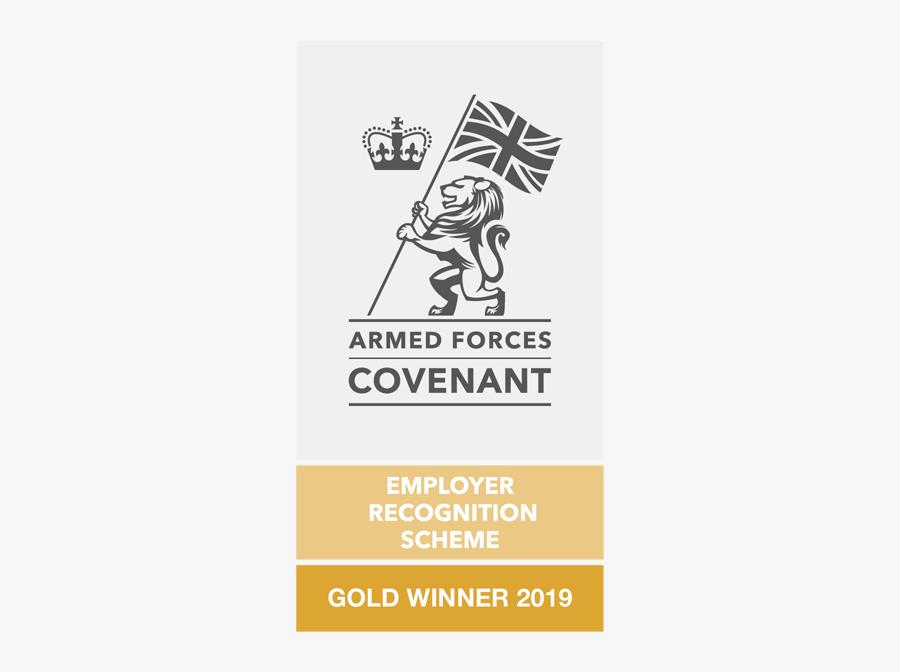 Defence Employer Recognition Scheme Silver, Transparent Clipart