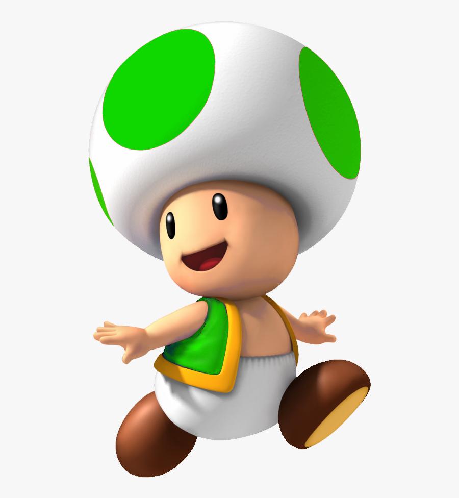 Mushroom Super Mario Kart Green Toad Mario Free Transparent