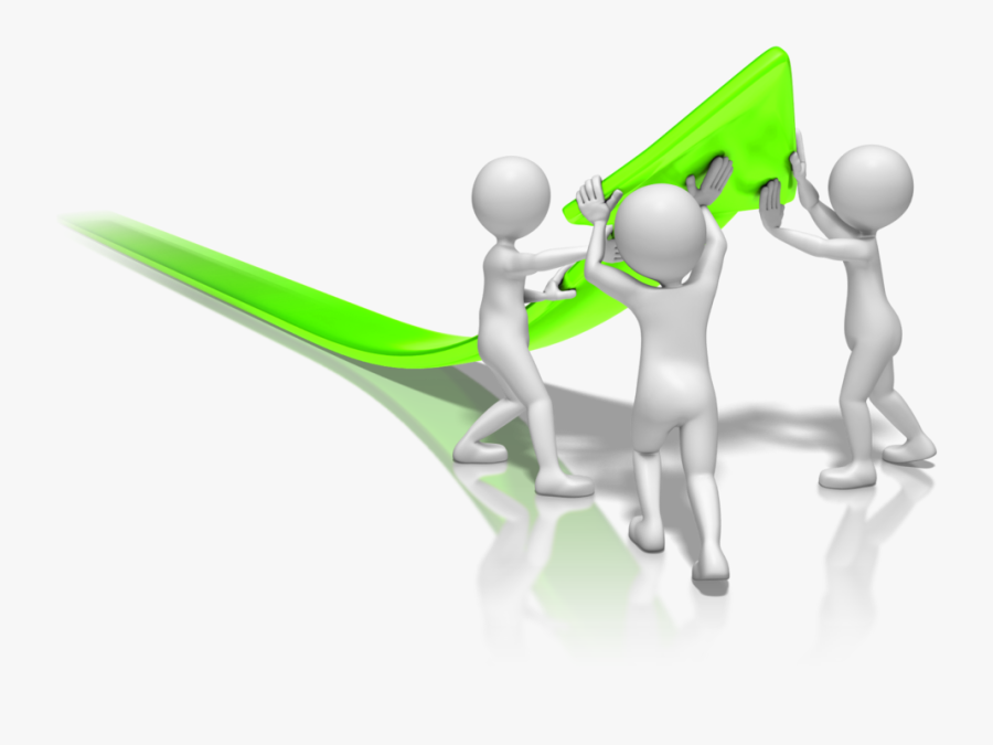 Conference Clipart Virtual Team - 3d Stick Figure Work, Transparent Clipart