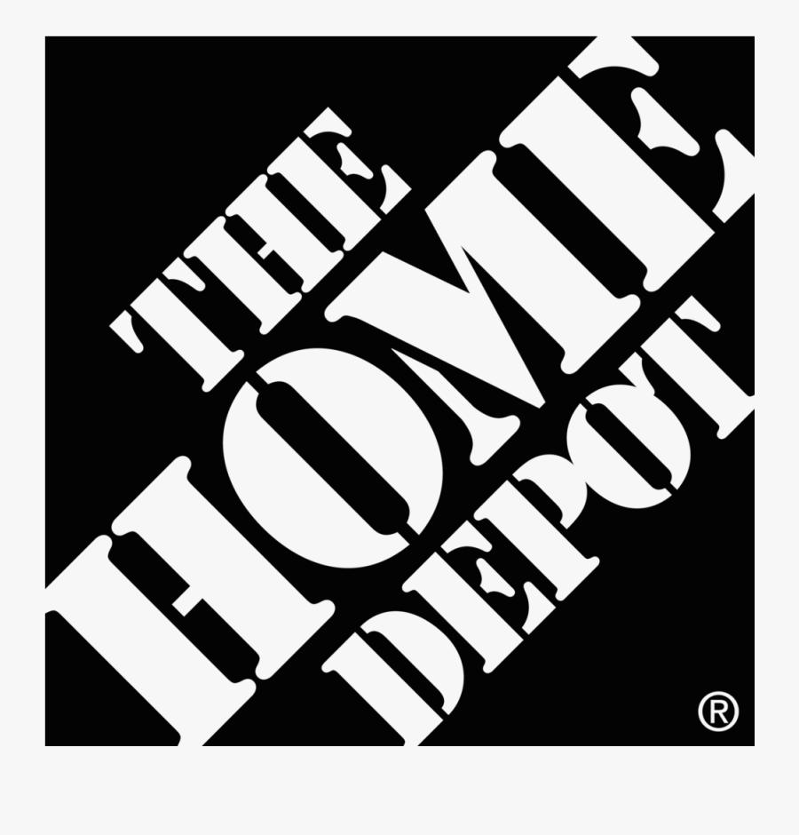 Clip Art Homedepot Black Png Image - Home Depot Logo Vector, Transparent Clipart