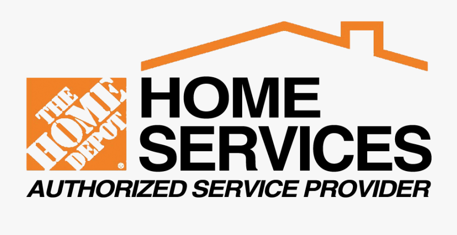 Home Depot Installation Services - Home Depot Authorized Installer, Transparent Clipart