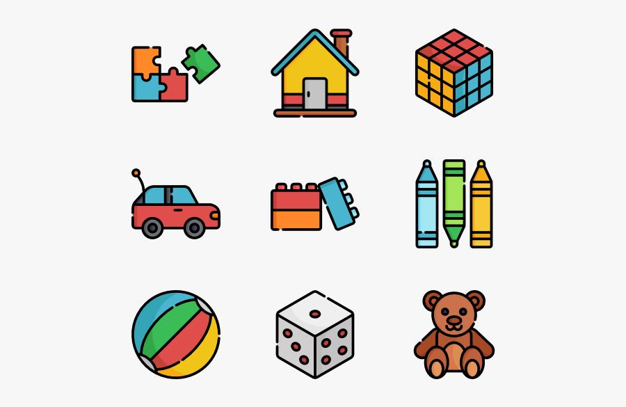 Toys Vector Psd - Play Toys Icon, Transparent Clipart